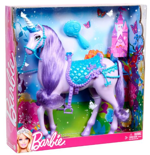 einhorn barbie lila
