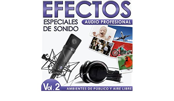 Ambientes de Público y Aire Libre. Efectos Especiales de Sonido. Audio Profesional. Vol. 2 by Sounds Effects Wav Files Studio on Amazon Music - Amazon.com