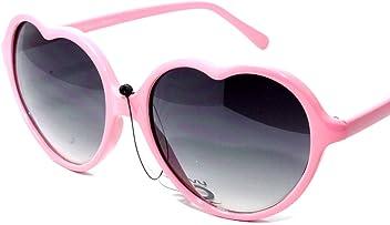 f89f10ab00 NG47-3 Pink Heart Shaped Women s Sunglasses UV400CE Gradient Lens Plastic