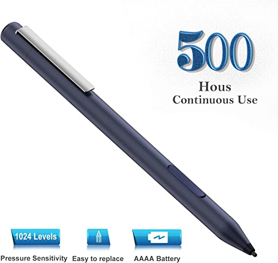 Broonel Black Mini Fine Point Digital Active Stylus Pen Compatible with The HP ZBook 15v 15.6 FHD Mobile Workstation