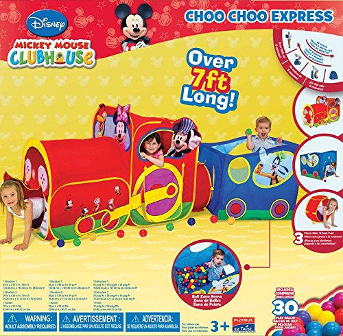 sc 1 st  Amazon.com & Amazon.com: Playhut Mickey Mouse Train: Toys u0026 Games