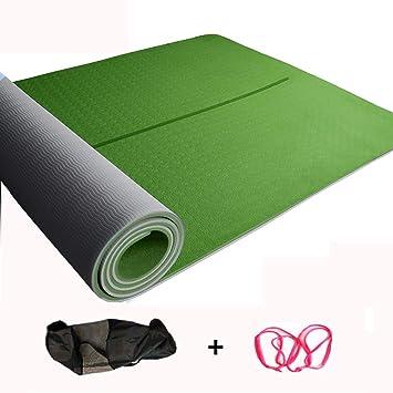 WZL Esterilla de Yoga Yoga Mat 183x66cm8MM Espuma Estera De ...
