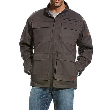 001bb86d0175 Amazon.com  ARIAT Men s Rebar Cargo Canvas Jacket  Clothing