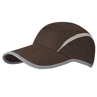 AHATECH Gorra Sombrero para Hombre Mujer Unisex Plain visera gorro verano  playa Golf tenis deporte sombrero viajes ocio sol protección  Amazon.es   Ropa y ... 5ba34479d52
