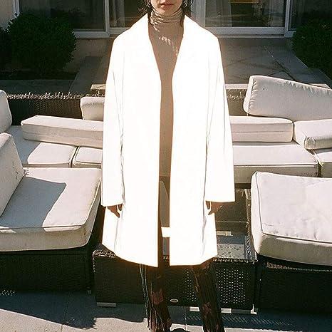Donna con colletto manica lunga SU MISURA con Cerniera Ufficio Lavoro Giacca Blazer Top