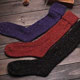 Y@H.Autumn and winter Retro fashion keep warm cotton socks