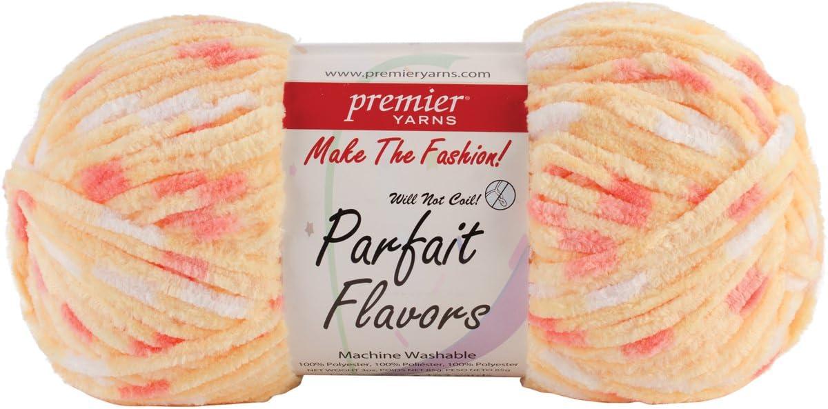 Premier Yarn 3 Pack Parfait Flavors Yarn Candy Corn