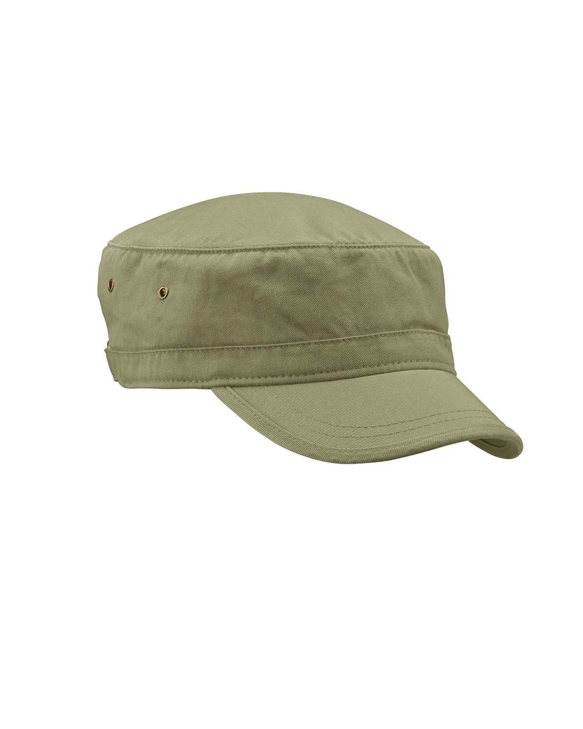 econscious 100% Organic Cotton Twill Corps Hat - Army