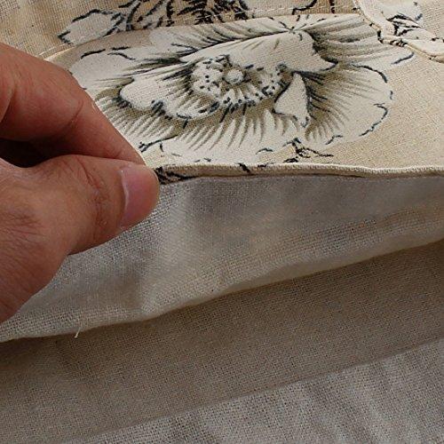 map De Mano De sourcing Paquete De Bolso Doble Floral Hombro Bolso Capa Compras Solo Rfx8dqT