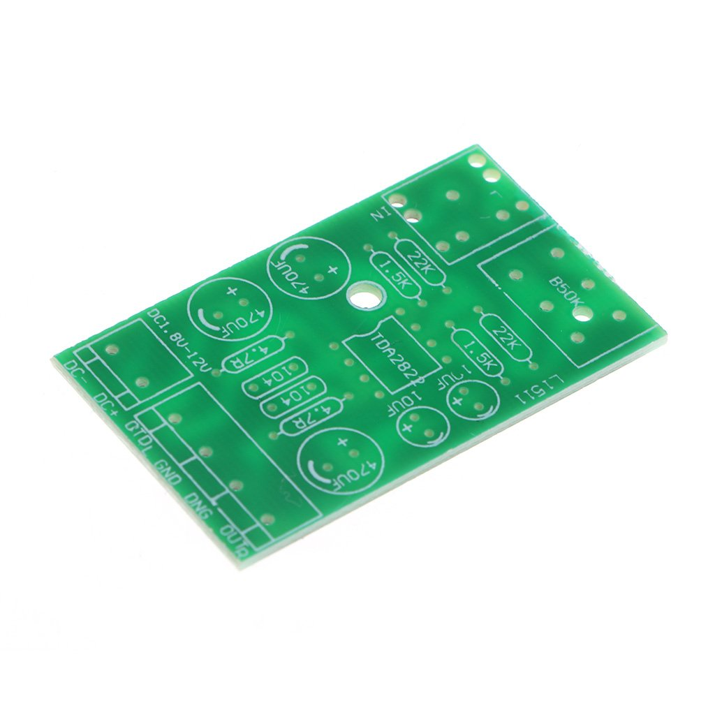 Aluoflower Dc 18 12v Tda2822m 20 Channel Stereo Mini Tda2822 Audio Power Amplifier Circuit Aux Board Module Electronics