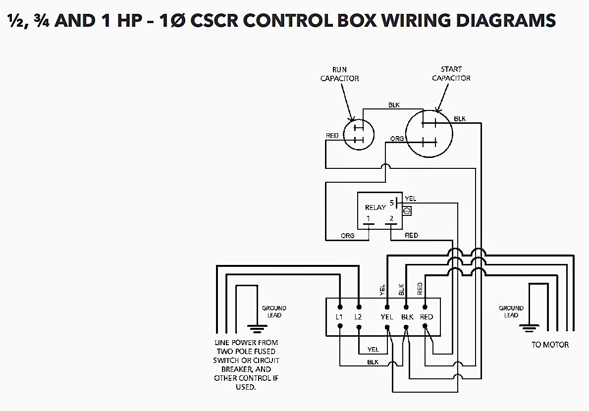 cb10412cr centripro submersible pump control box 1hp 230v 1phase rh amazon com Electric Heat Pump Wiring Diagram CentriPro Pump Control Box