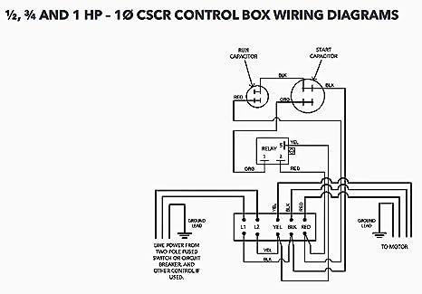 cb10412cr centripro submersible pump control box 1hp 230v 1phase cb10412cr centripro submersible pump control box 1hp 230v 1phase cscr amazon com
