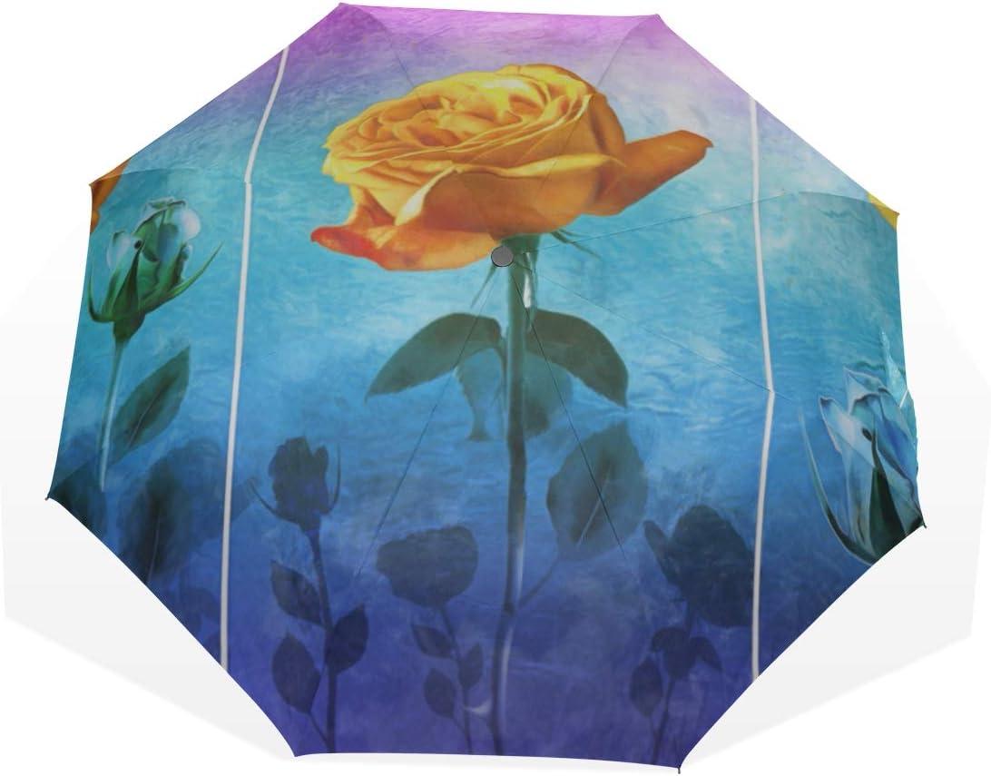 Travel Umbrella Wifi Abstract Creative Sign Anti Uv Compact 3 Fold Art Lightweight Foldable Umbrellas Windproof Rain Sun Protection Umbrellas For Women Girls Kids outside Printing