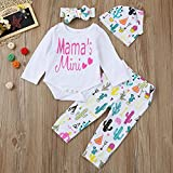 ViWorld Baby Girls Clothes Baby Romper Outfit Pants Set Long Sleeve Winter Clothing(0-6 months/70)