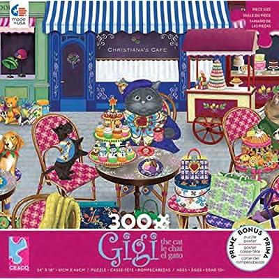 Ceaco Gigi - The Shopper Puzzle - 300 Pieces: Toys & Games