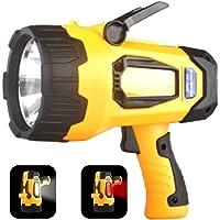 MIXILIN 4400 mAh 20h Rechargeable LED Spotlights Flashlights