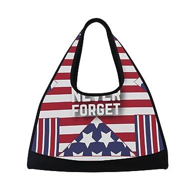 e57829fd74fc Amazon.com | MAPOLO HAPPY MEMORIAL DAY EVERYONE Travel Duffel Bag ...