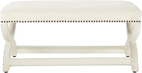 Modway Expound Performance Velvet Upholstered Nailhead Trim Accent Entryway Bench