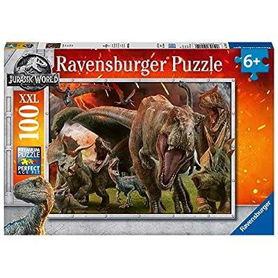 Ravensburger Jurassic World Puzzle 100 Pezzi
