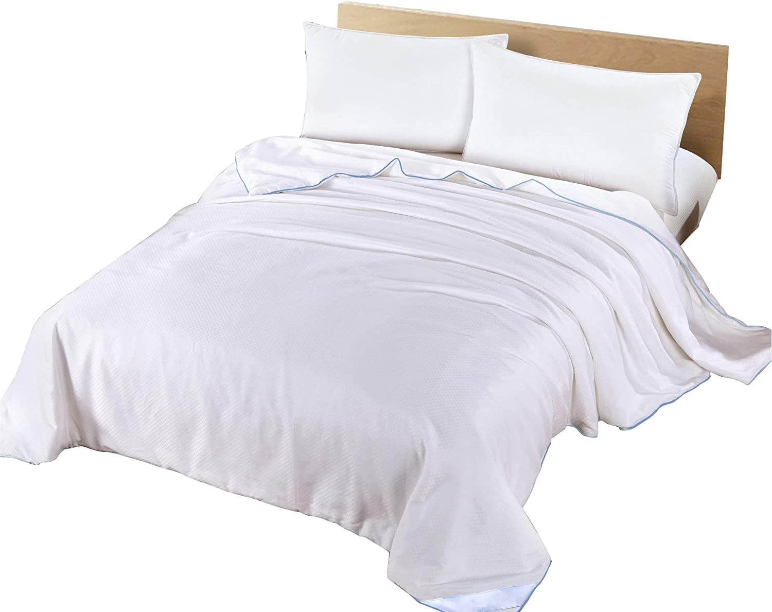 100/% Natural Silk Microfibre Filled Hotel Quality Luxury Duvet Quilt All Sizes