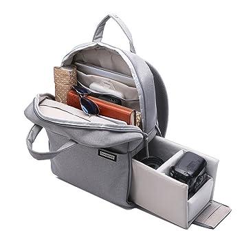 Amazon.com: Professional Fashion Camera Bag DSLR Laptop Backpack ...