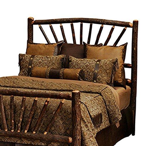 Fireside Lodge Furniture 80025 Hickory Sunburst Headboard...