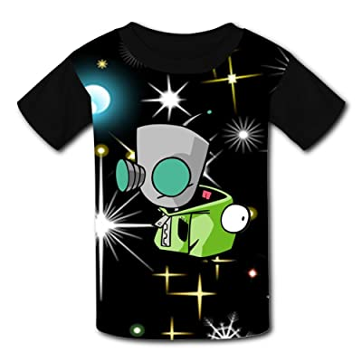 3D Cartoon-Pig-Zim Design Sleeve T-Shirt Fashion Styles Tee Shirt