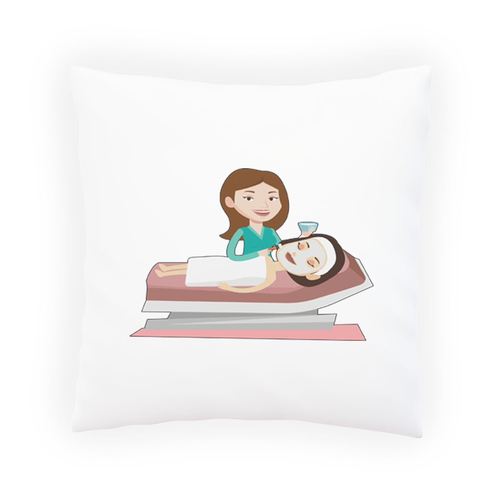 Spa Beauty Lady Decorative Pillow , Cushion cover with Insert or Without q885p