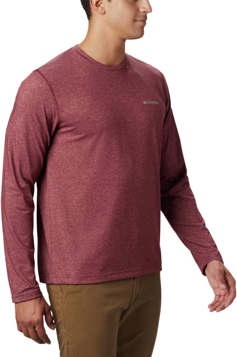 Columbia Men's Thistletown Park Long Sleeve Crew: Sports & Outdoors