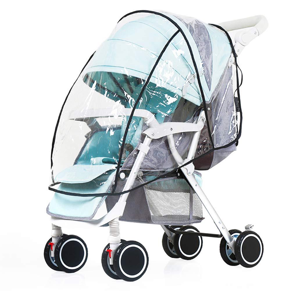 Chic Stroller Rain Cover Universal Pram Baby Infant Double Pushchair Wind