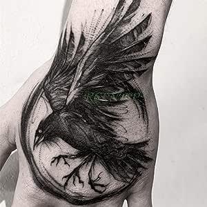 Handaxian 5 Piezas Etiqueta engomada del Tatuaje Número de Letra ...