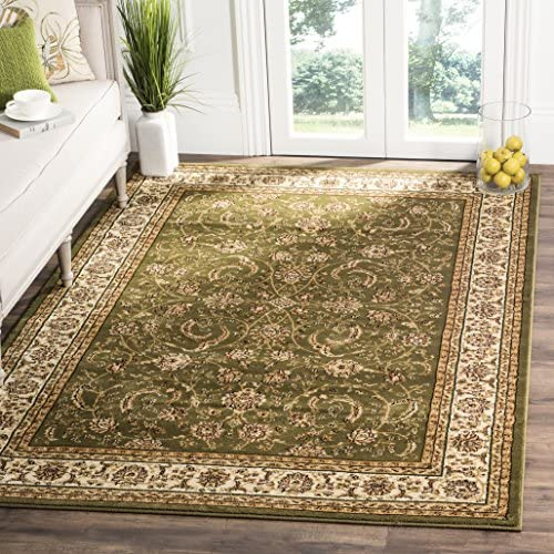 Safavieh Lyndhurst Collection LNH219B Traditional Oriental Sage and Ivory Area Rug 8 x 11