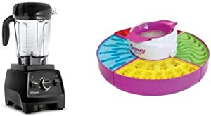 Vitamix Professional Series 750 Black with 64-Oz. Container and Nostalgia GCM600 Electric Giant Gummy Candy Maker Bundle