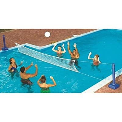 Swimline 9186SL Jammin' Inground Cross Pool Volleyball Game Model:: Garden & Outdoor