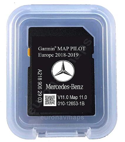 garmin map pilot sd karte kopieren SD Karte MERCEDES (Star1) GARMIN MAP PILOT Europe 2018 v10