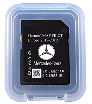 SD Card MERCEDES (Star1) GARMIN MAP PILOT Europe 2018 v10 (A2189062903)