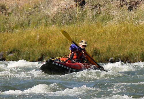 Our #8 Pick is the 13' Saturn Whitewater Kayak