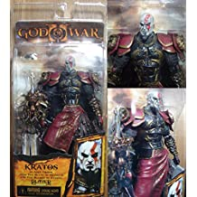 God of War 2 Video Game Action Figures Kratos with Ares Armor close Mouth Version by bala