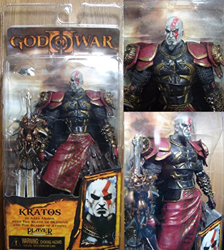 God of War 2 Video Game Action Figures Kratos with Ares