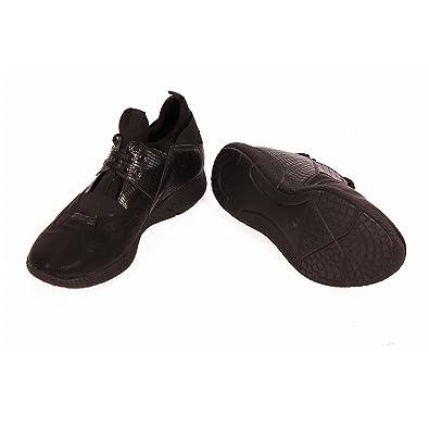 Barbarossa Moratti - Zapatillas de Piel para hombre, color negro, talla 44 EU