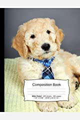 Goldendoodle Composition Notebook: A Wide Ruled Exercise Book for Writing and Journaling (Dog Notebooks) Paperback