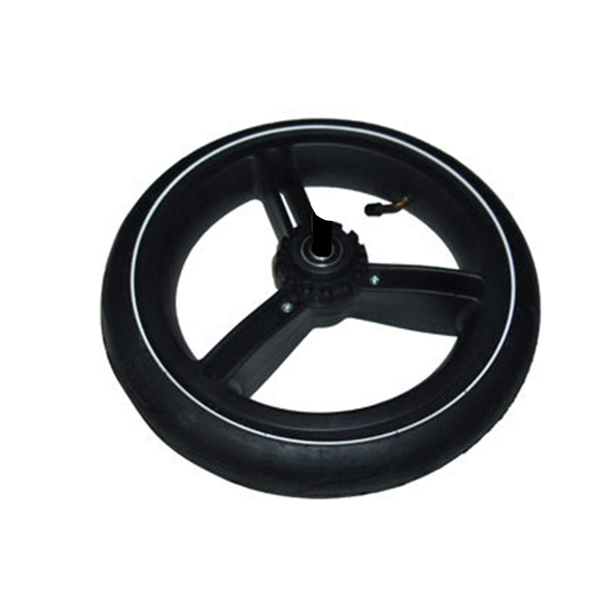 Phil & Teds Vibe and Verve Complete Rear Wheel (Wheel, Tire, and Inner Tube - Axle Not Included)