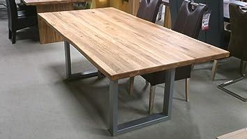 Möbel Akut Massivholz Esstisch Teck Esszimmer Tisch