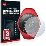 savvies Cristal Templado Compatible con Polar M200 (3 Unidades) Protector Pantalla Vidrio Proteccion 9H Pelicula Anti…