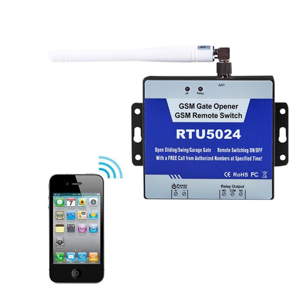2G GSM Gate Opener RTU5024 Relay Switch Phone Wireless Remote Control Door Access