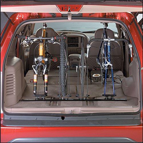 Soportes para bicicletas Saris Unique Mount Single Track Tenedor para camiones, camionetas o almacenamiento interior (14 a 47 pulgadas)