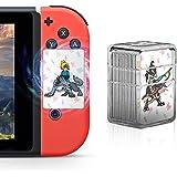カイカツ NFCゲームカード Nintendo Switch  Will U対応 ゼルダの伝説 22枚セット アイテムカード Zelda  カードケース付き ミニサイズ