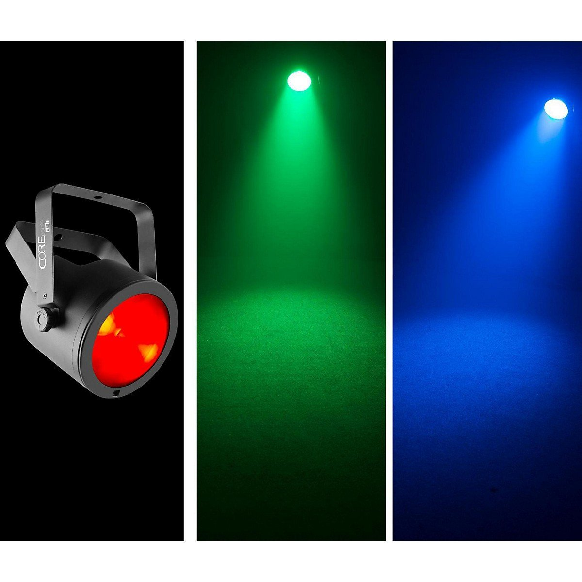 CHAUVET DJ COREpar 40 USB LED Washlight w/Chip-on-Board & D-Fi USM Compatibility by CHAUVET DJ