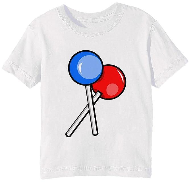 Chupete Niños Unisexo Niño Niña Camiseta Cuello Redondo ...