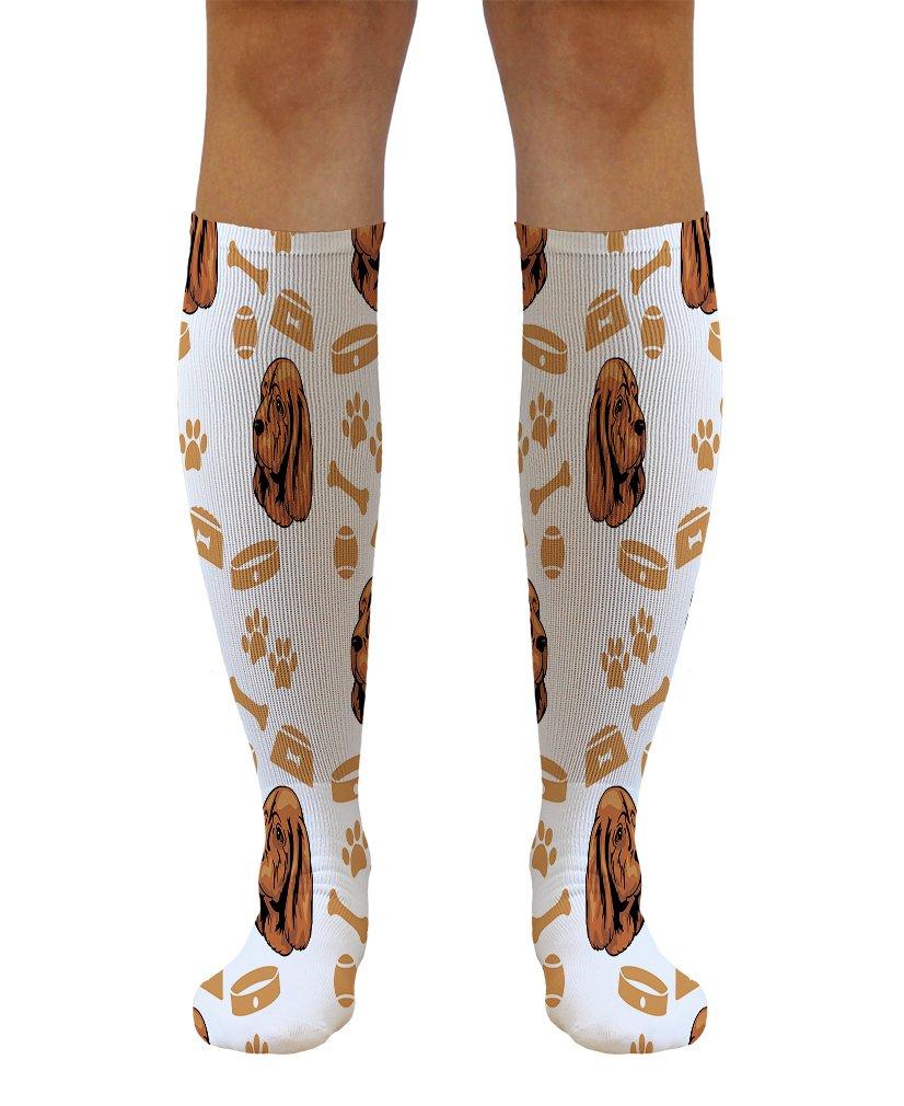Funny Knee High Socks Sussex Spaniel Dog Polyester Tube Socks Women & Men 1 Size 1